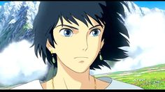 Howls Moving Castle....one of my fictional character crushes....plus Christian Bale's voice adds to the attractiveness