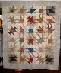 Antique Flying Geese Quilt Pennsylvania 1930'S | eBay