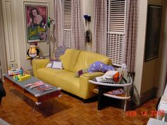 Joey's apartment on the TV show Friends
