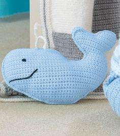 Free Whale Crochet Pattern #free #pattern #crochet