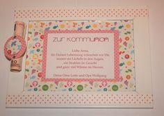 *Sie sind auf der Suche nach einer schönen Verpackung für ein Geldgeschenk zur Kommunion, Konfirmation oder Firmung?*    Mit diesem hübschen Rahmen...