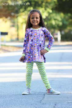 Sew Like My Mom Posey Tunic PDF pattern 12m  8 by sewlikemymom