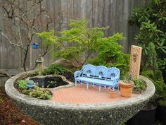 Preparing for Winter in the Miniature Garden