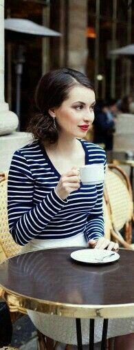 !!! ☆ Cafe Chic ☆ !!! Paris Girl