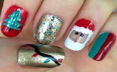 Make Christmas Nail Designs