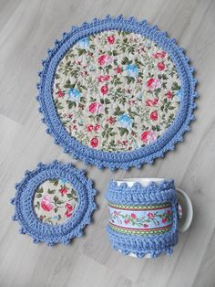 Crochet Quilt Pattern, Crochet Potholders, Crochet Motif, Crochet Doilies, Crochet Flowers, Quilt Patterns, Knit Crochet, Sewing Art, Craft Ideas