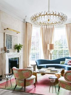 Bright White Rooms With Touches of Pastel