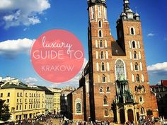 As part of the Backpacker's Boutique here is a Luxury Guide to Krakow, Best places to eat sleep and drink in Krakow Poland from a local.