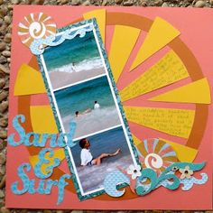 Scrappy Therapy- Surf's Up