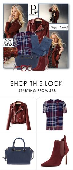 """""""Fashion Blogger's Fall Closet"""" by brendariley-1 ❤ liked on Polyvore featuring H&M, Baum und Pferdgarten, Blonde Ambition, Michael Kors, Manolo Blahnik and Yves Saint Laurent"""