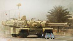 concept tanks: Large tank by Al Brady