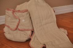 LOVE this conversion idea!  Made to Order Converted Unbleached Prefold Fitted by AdriannaKnits, $8.30