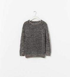 ZARA - 아동 - 엘보우 패치 스웨터