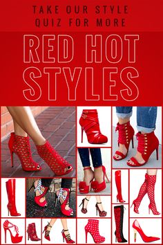 Red, Black Kids High Heel Shoes Cute Thigh High Heel Boots for Womens and Mens Hot Shoes, Crazy Shoes, Me Too Shoes, Shoes Heels, Pumps, Stilettos, Pretty Shoes, Beautiful Shoes, Heeled Boots