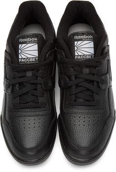 Gosha Rubchinskiy - Black Reebok Classics Edition Workout Sneakers