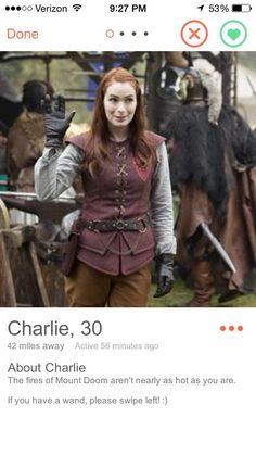 "Charlie Bradbury | Community Post: If ""Supernatural"" Characters Had Tinder"