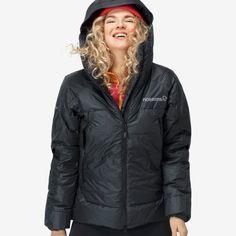 Norrøna trollveggen ACE Jacket for Women - Norrøna® Jackets For Women, Winter Jackets, Fashion, Moda, Winter Vest Outfits, La Mode, Fasion, Fashion Models, Trendy Fashion