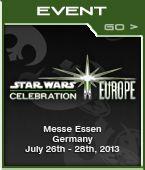 Comme vous le savez tous, Star Wars Celebration Europe 2 se déroulera du 26 au 28 Juillet prochain.  Mintinbox est fière de figurer parmi les supporters de l'évènement, tant pour assurer la promotion de l'event que vous ramener l'un des meilleurs reportages que nous ayont fait.    Compter sur les membres du staff présent sur places pour assurer le show.