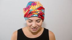 Scarves for cancer/chemo patients, African head wrap, fair trade, ethical fashion, Artisan head wraps for women, surgical caps, Congo, African fabric #ethicalheadwraps #fairtradeheadwrps