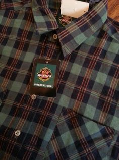 Vintage Men's McGregor International Plaid Long Sleeve Flannel Shirt size XL in Clothing, Shoes & Accessories | eBay