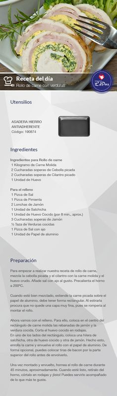 Main Dishes, Recipies, Good Food, Tasty, Beef, Cook, Baking, Desserts, Gastronomia