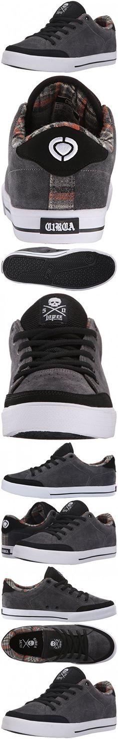 C1RCA Men's AL50 Skate Shoe, Black/Dark Shadow, 5.5 M US