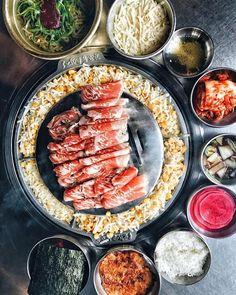"""805 Likes, 19 Comments - Kang Ho Dong Baekjeong (@baekjeongkbbq) on Instagram: """"Who else loves corn cheese as much as we do! 🌽🧀 #baekjeong 📷: @foodwithmichel"""""""