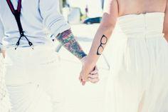Fotos de casamentos de tatuados - Weddings tattooed (18)