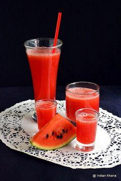 Easy Watermelon Juice Recipe by Priti_S, via Flickr