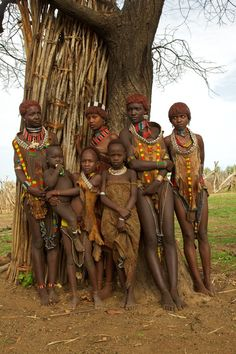 Ethiopia, Omo Valley, Hamar Tribe