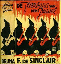 balnibarbi:  02F. de Sinclair, De Jazzband van den Duivel, 1941 (from the collection of twincovercollector) by 50 Watts http://flic.kr/p/7gLGXL