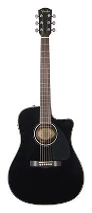 #Fender CD110CE Black Electric Acoustic #Guitar [May 2013] - £218.00 :: 100sof