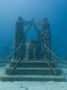The Neptune Memorial Reef the Atlantis Reef is the world's first underwater mausoleum for cremated remains.
