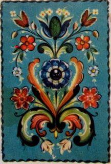 Rosemalings,Swedish Dala Paintings: Swedish kurbits paintings