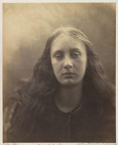Christabel :: Julia Margaret Cameron  (British (born India), Calcutta 1815–1879 Kalutara, Ceylon)