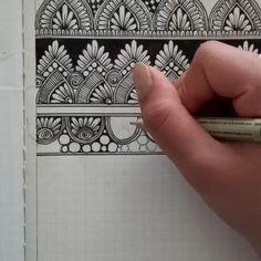This is the home page for my Art Shop & Portfolio. Mandala Doodle, Mandala Art Lesson, Mandala Artwork, Mandala Painting, Doodle Doodle, Zen Doodle Patterns, Doodle Art Designs, Zentangle Patterns, Doodle Borders