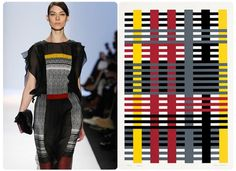 Canvasses On The Catwalk: Art-Inspired Looks At New York Fashion Week