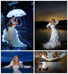use a back light and let them hold the white shoot through umbrella