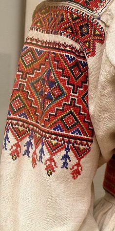 Lviv style , Ukraine , from Iryna Folk Embroidery, Embroidery Fashion, Cross Stitch Embroidery, Embroidery Patterns, Folklore, Ukraine, Estilo Folk, Ethno Style, Mode Boho