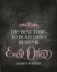 Audrey says it best