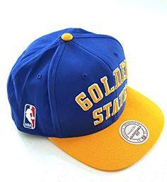 Mitchell   Ness Golden State Warriors Wordmark Blue Snapback  Amazon.co.uk   Clothing 55e0a312a9c