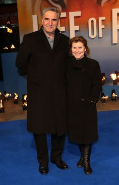 Jim Carter and his wife Imelda Staunton - Life Of Pi - UK Premiere - Red Carpet Arrivals 2012, London