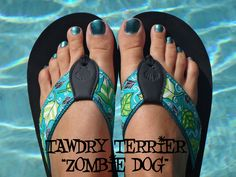 "@TawdryTerrier ""Zombie Dog"" - 2 bottles available at https://www.etsy.com/shop/TawdryTerrier #nailpolish #indienailpolish #tawdryterrier"