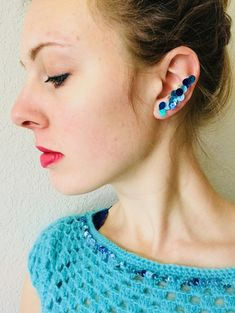 Sequin Ear Crawlers