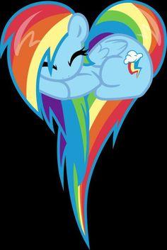 Image via We Heart It https://weheartit.com/entry/146321591/via/21881566 #dash #heart #MLP #pony #rainbow #rainbowdash #rainbowdash #brony