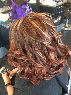 Hair Color And Cut, Cool Hair Color, Brown Blonde Hair, Brunette Hair, Hair Color Caramel, Hair Color Highlights, Hair Brained, Auburn Hair, Great Hair