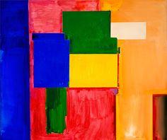 To Miz - Pax Vobiscum, 1964, Hans Hofmann Medium: oil