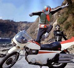 Hero Machine, Japanese Superheroes, Showa Era, Kamen Rider Series, Comic Character, Power Rangers, Movie Tv, Sci Fi, Comics