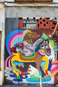 Street art | Mural by 3ttman and Saner