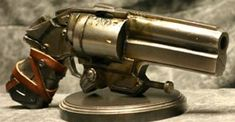 DIRTY HARRY .440 Cor-Bon cased This nomad revolver appears to be hand tooled from scratch